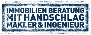 Immobilienberatung mit Handschlag - Makler und Ingenieur